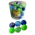 """Игрушка для кошек """"Мяч"""", пластик, 4см"""