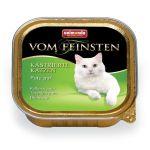 Консервы для кастрированных кошек с отборной индейкой (Vom Feinsten for castrated cats)