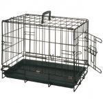 Клетка для собак черная, с 1 дверью 47*30*37 см