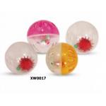 Набор мячей для кошек, 4 шт., пластик