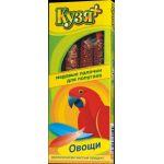 """Палочки для попугаев """"Овощи"""", 4шт."""