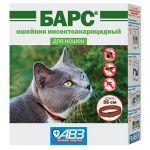 Барс Ошейник для кошек от блох и клещей