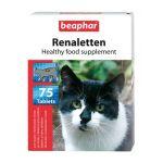 Витамины для кошек с проблемами почек (Renaletten), 75шт.